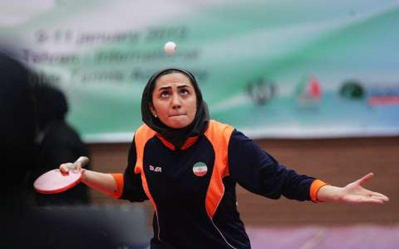 برتری تنیسور مس برابر قهرمان ایران
