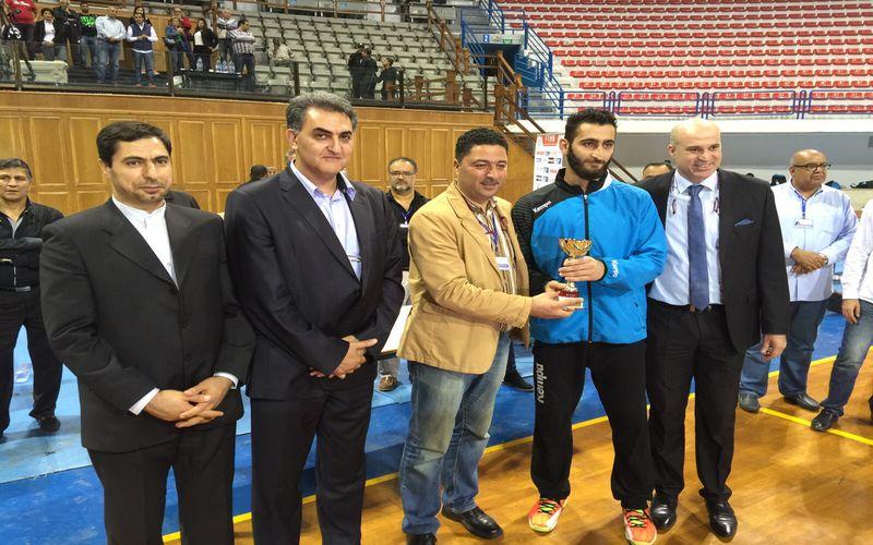دروازهبان هندبال مس در تونس بهترین شد