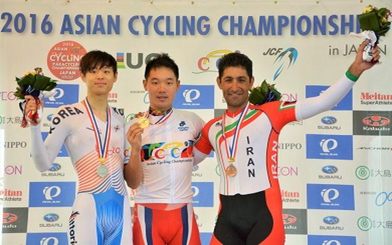 مدال برنز با ارزش ملیپوش دوچرخهسواری مس در آسیا