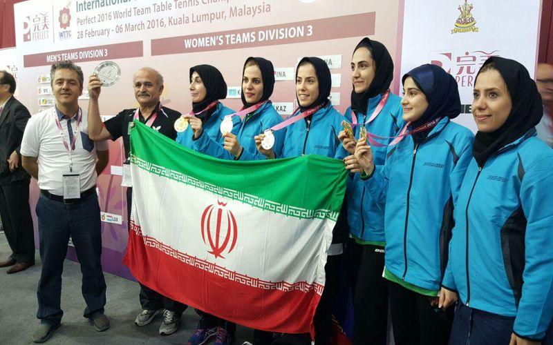 درخشش تنیسور دختر مس/عمرانی با مدال طلای جهانی بازگشت