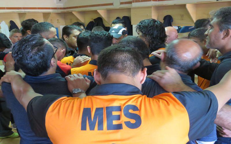 مطلب سایت فرهنگستان فوتبال ایران برای تیم مس/رقص لالههای نارنجی در باد
