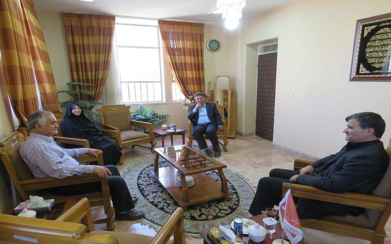 نشست مشترک مدیران مس و مقامات ارشد اداره ورزش کرمان