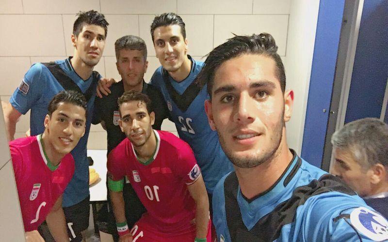 صعود به یاد ماندنی جوانان ایران به جامجهانی به همراه بازیکن مسی خود