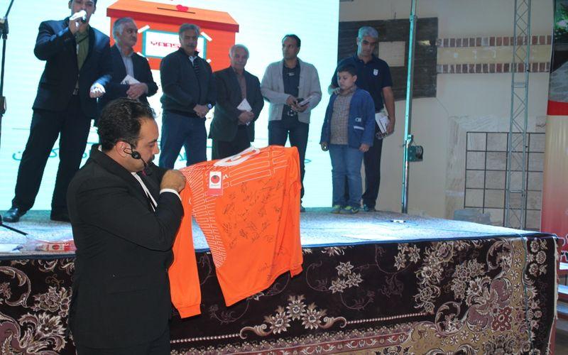 حضور خانواده باشگاه مس در خیریه یاس/فروش 24 میلیونی پیراهن مس