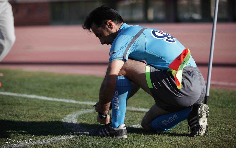 احمد محمدی داور بازی گلگهر و مس
