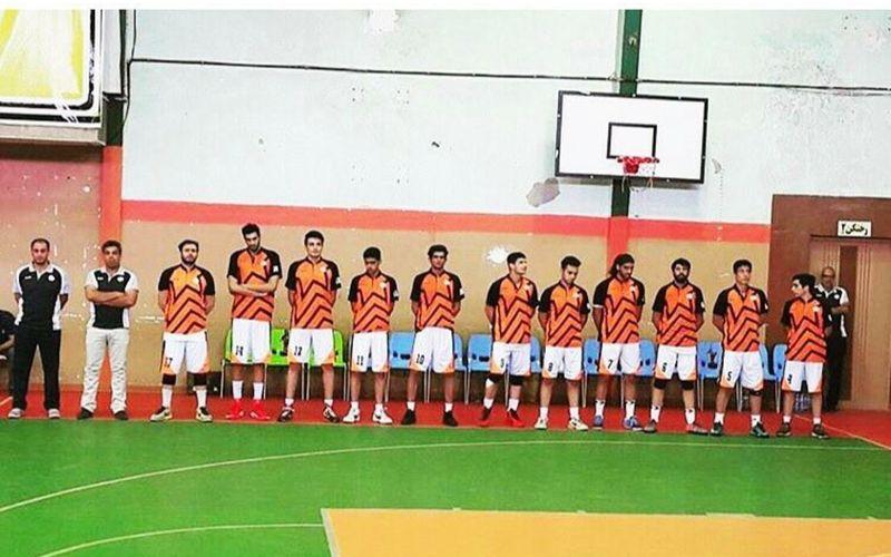 توپ بسکتبالیستهای مس در سبد پیروزی