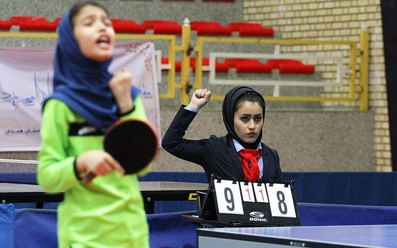 دختران تیم تنیس روی میز مس آماده شرکت در لیگ برتر