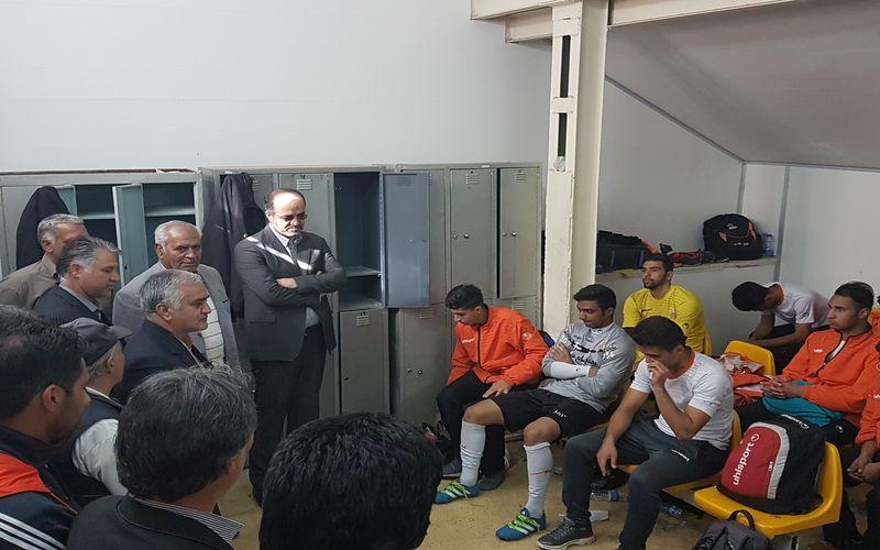 توجه تمام قد مس به فوتبال پایه/مشاور مدیر عامل شرکت مس میهمان آیندهداران مس