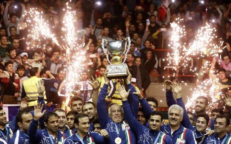 تبریک باشگاه مس به جامعه ورزش کشور بابت افتخارآفرینی تیم ملی کشتی