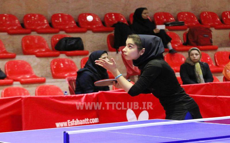 تکرار نایب قهرمانی دختران تنیسور مس در دور برگشت لیگ برتر