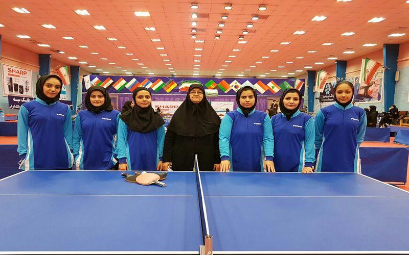 مربی دختران پینگپنگ مس: پخش زنده بازیها کیفیت مسابقات را دو چندان کرد