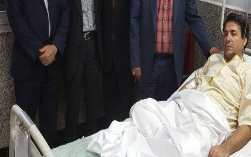 آرزوی سلامتی برای رئیس هیات فوتبال کرمان