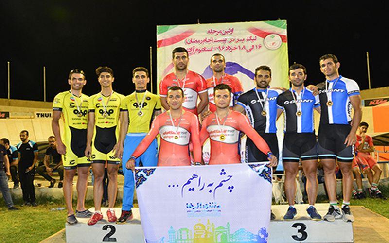 عنوان سومی تیم مس در مرحلهی اول لیگ برتر دوچرخهسواری