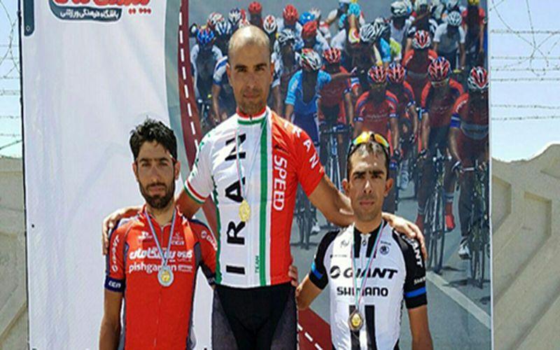 دوچرخهسوار مس در جادههای کشور سوم شد