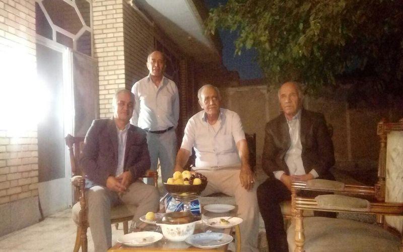 عیادت مدیرعامل باشگاه مس از پیشکسوت ورزش کرمان