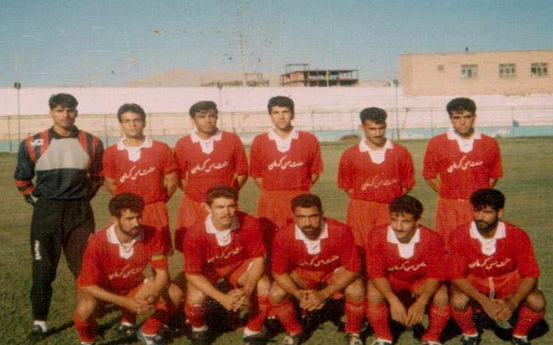 عکس نوستالوژیک از اولین روزهای مس/مربیان امروز مس بازیکنان بدو تولد این تیم
