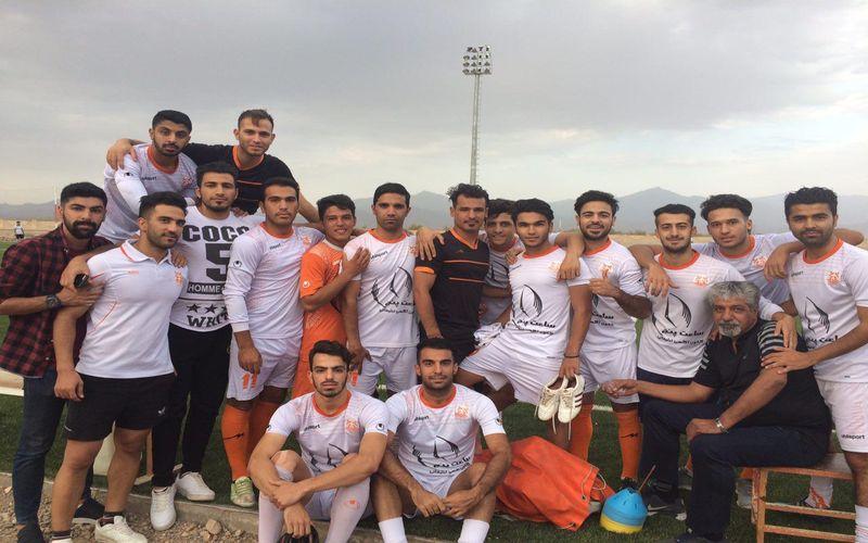 آغاز رسمی تمرینات تیم فوتبال مس ب برای لیگ دو (عکس)