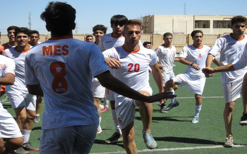 ادامه روند آمادهسازی و گزینش تیم فوتبال امید مس کرمان(عکس)