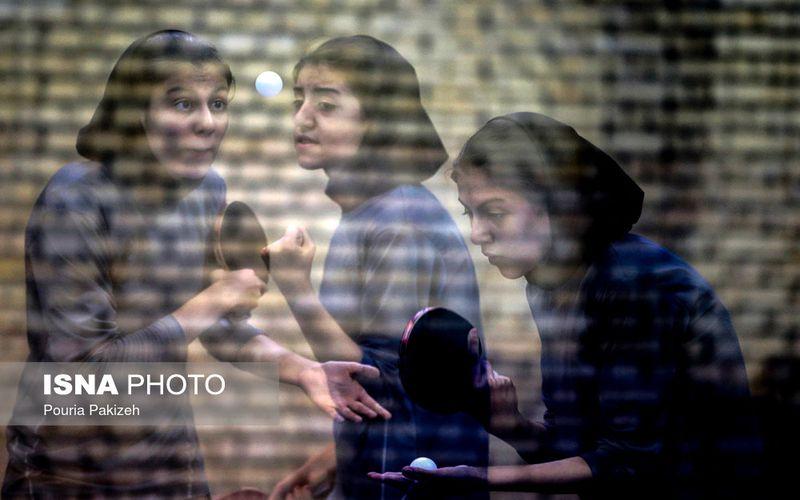 رنکینگ پینگپنگبازان دختر تیم مس در کشور