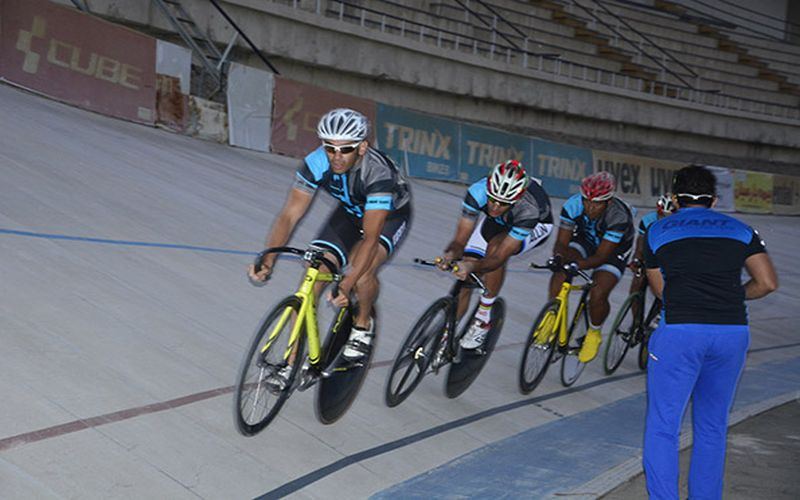 تیم ملی دوچرخه سواری ایران در تسخیر مسیها