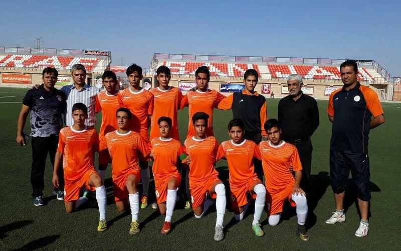 تیم زیر 15 سالههای مس در یک قدمی مسابقات کشوری