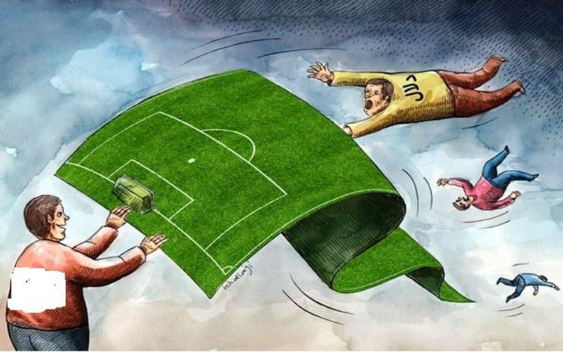بررسی رفتارهای ناپسند در پوششی خاص/تلاش برای گسترش دلالیسم در فوتبال کرمان