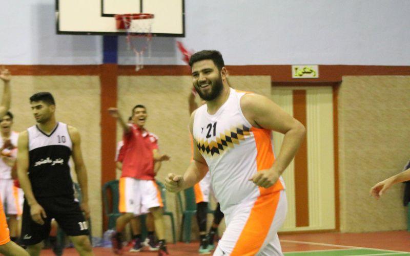 گزارش تصویری مسابقه بسکتبال امید مس در لیگ یک