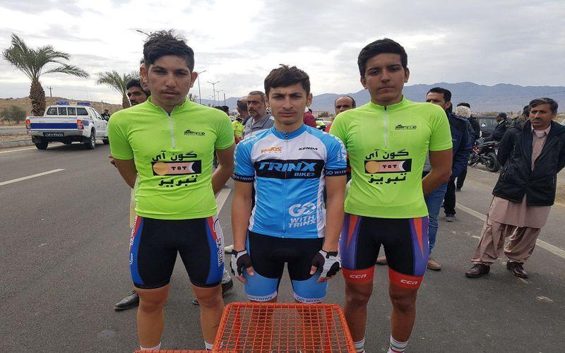 درخشش دوچرخهسوار مس در تور بینالمللی کرمان