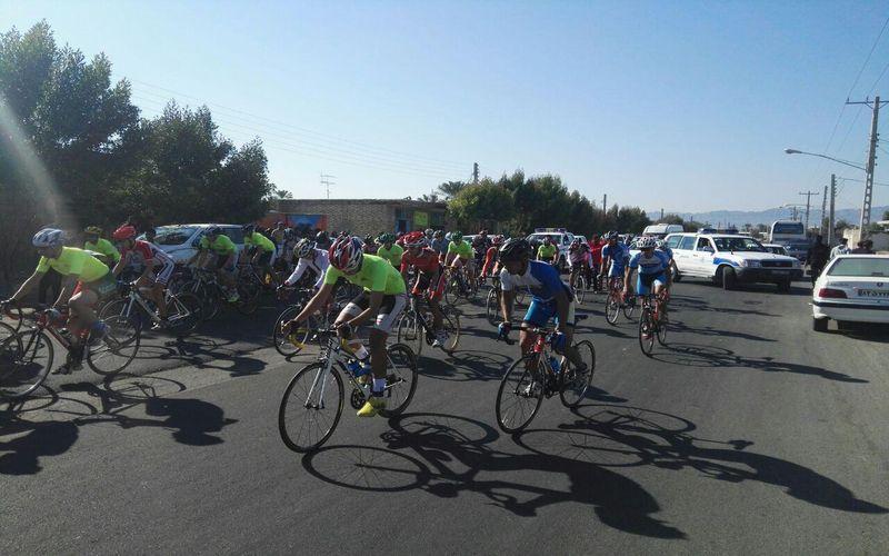 عیادت مقامات از دوچرخهسوار مصدوم تیم مس