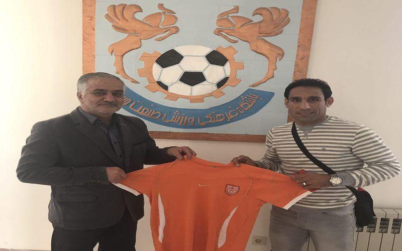 بازگشت احمد حسنزاده به مس کرمان