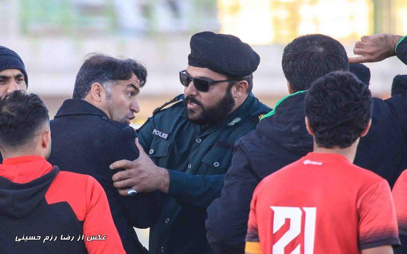محکومیت انضباطی سنگین تیم ایرانجوان به دلیل تخلفات در بازی با مس