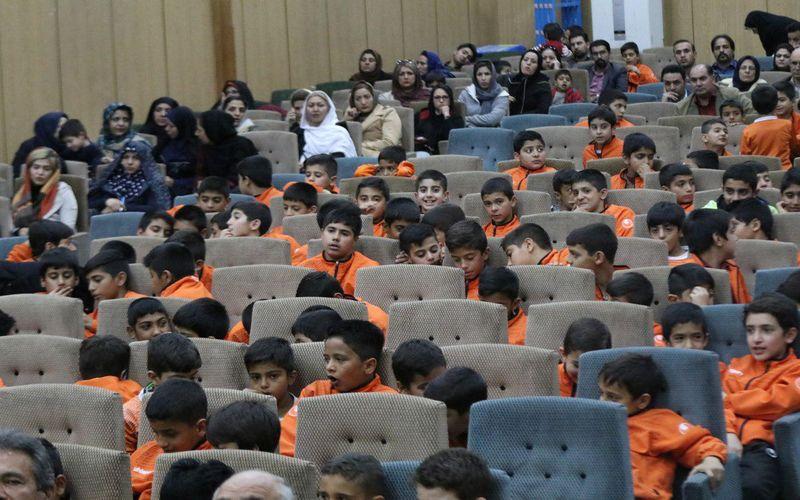 برگزاری همایش علمی بزرگ باشگاه مس برای خانواده فوتبالیستهای پایه(عکس)
