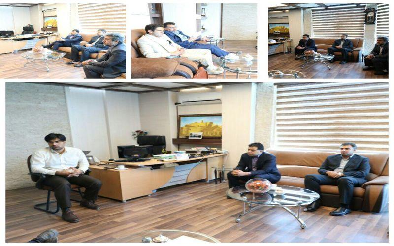 برگزاری جلسه توسعه زیرساختهای ورزش کرمان با حضور مدیرعامل باشگاه مس