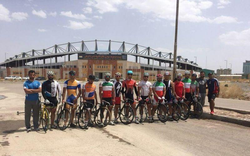 ملیپوشان دوچرخهسوار مس همچنان در کرمان رکاب میزنند