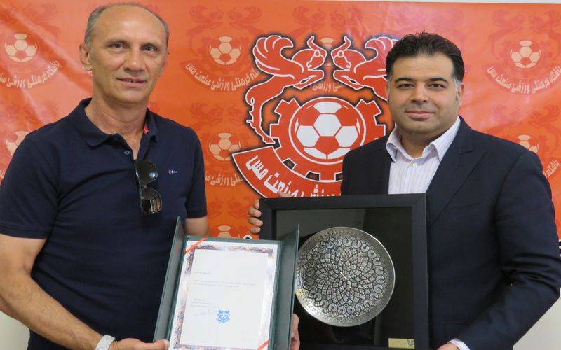 تشکر مدیرعامل باشگاه مس از زحمات دارکو دراژیچ
