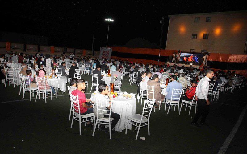 برگزاری جشن پایان دوره تیمهای ورزشی باشگاه مس در فصل گذشته