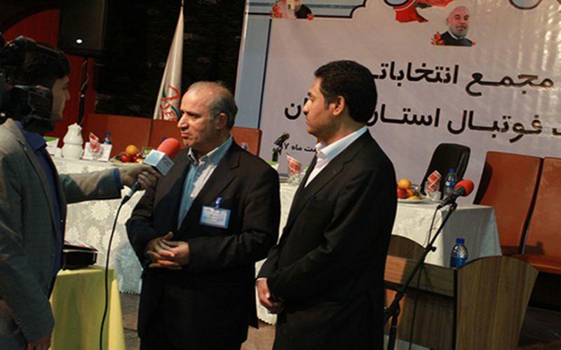 تاکید رئیس جدید هیات فوتبال کرمان بر صعود تیمهای کرمانی به لیگ برتر