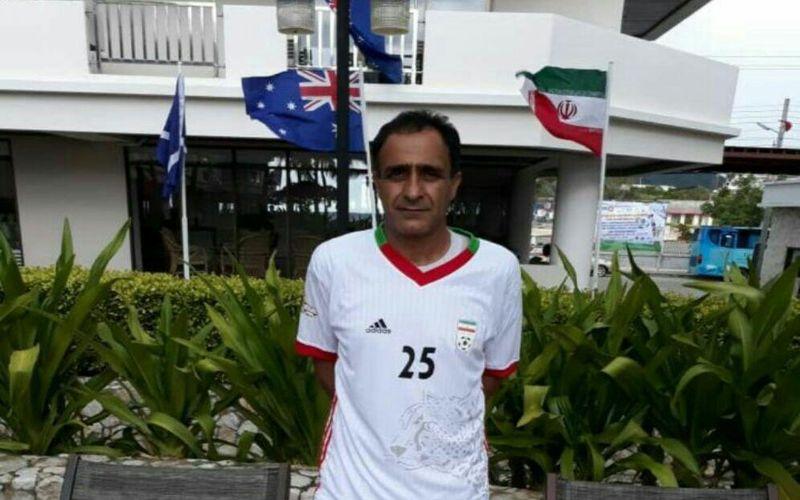 مربی باشگاه مس به همراه تیم ملیپیشکسوتان در ردهبندی جامجهانی