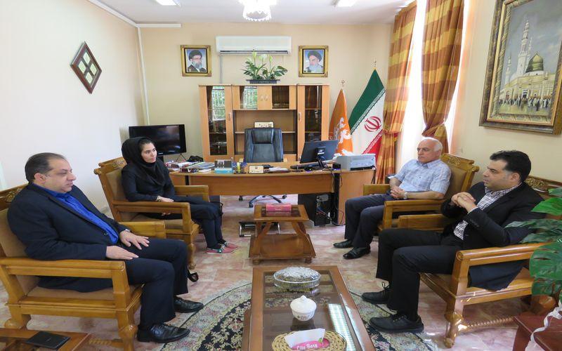 نشست مسئول کمیته صدور مجوز حرفهای سازمان لیگ در باشگاه مس کرمان
