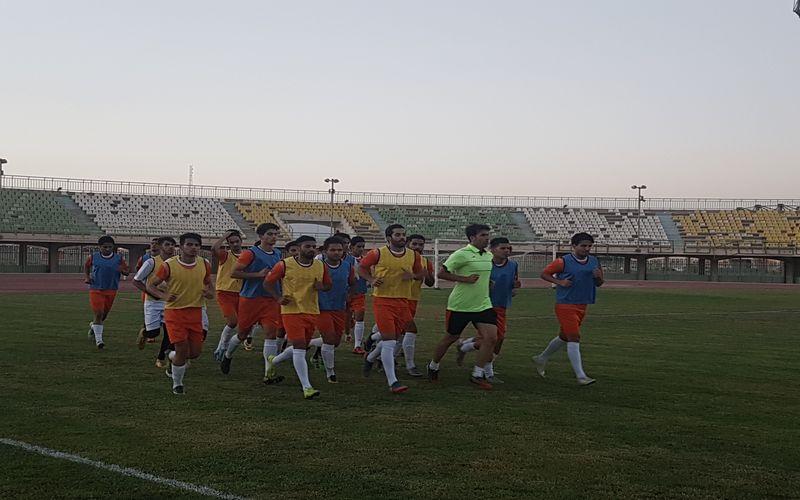 گزارش اولین تمرین تیم فوتبال مس برای فصل جدید(عکس)