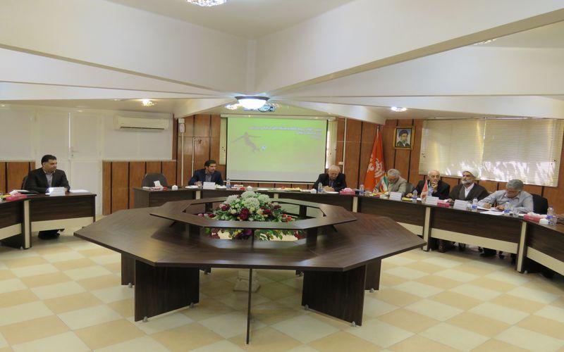 برگزاری جلسه هیات مدیره اتحادیه باشگاههای صنعتی به میزبانی باشگاه مس کرمان