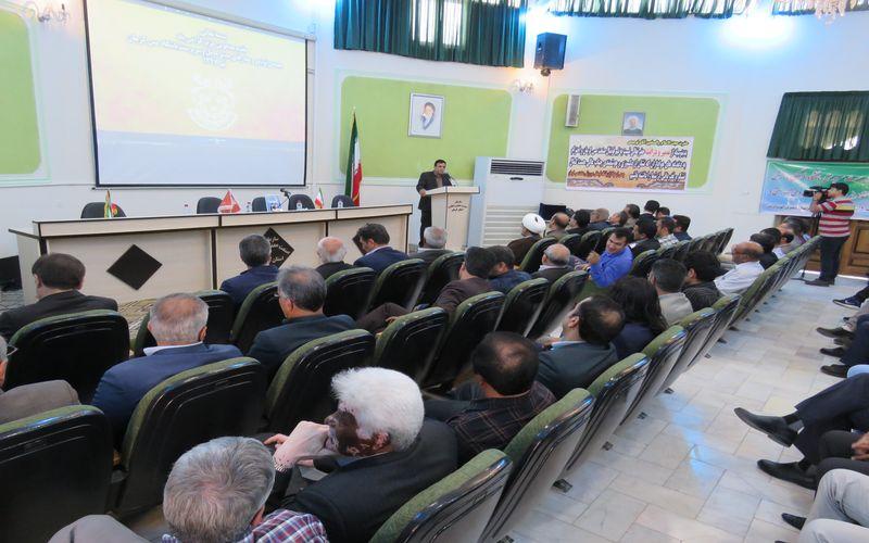 صحبتهای نمایندگان استان کرمان در مجلس در مراسم معارفه سرپرست باشگاه