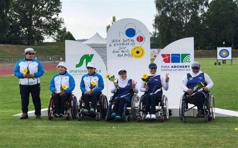 شکار مدال طلا و نقره با تیر بانو پرافتخار باشگاه مس در مسابقات قهرمانی جهان