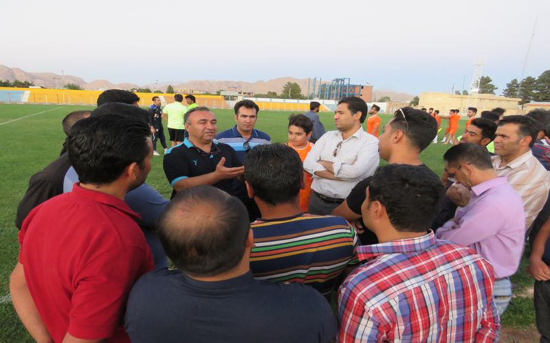 گزارش تصویری حضور نادر دستنشان در باشگاه و تمرینات تیم فوتبال مس