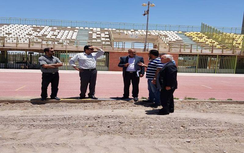 بازدید سرزده سرپرست باشگاه مس واعضای هیات مدیره از روند بازسازی ورزشگاه باهنر(عکس)