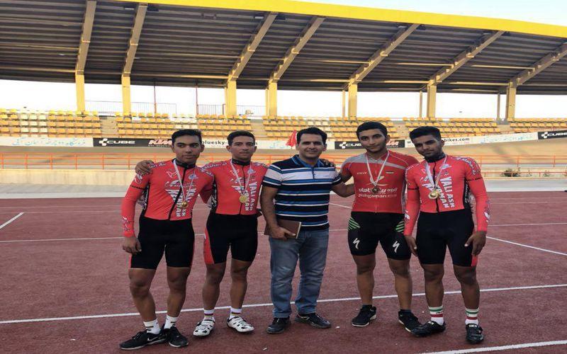 درخشش عالی رکابزنان مس در رقابتهای جوانان قهرمانی کشور