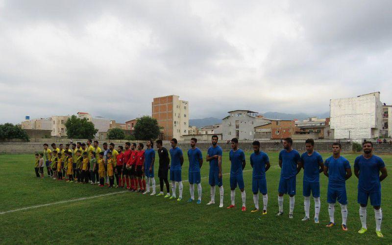 پیروزی تیم فوتبال مس در یک بازی دوستانه در اردوی شمال