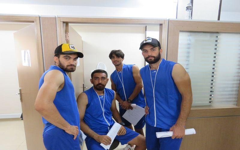 حضور بازیکنان مس در تست پزشکی ایفمارک