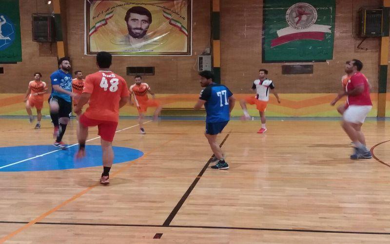 حضور ملیپوشان کرمانی در تمرین تیم هندبال مس