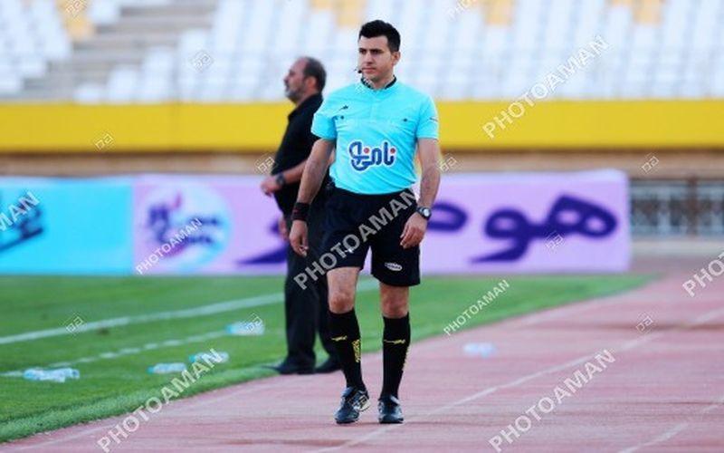 ابولفضل گرجی داور بازی هفته اول مس برابر شهرداری ماهشهر